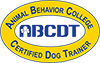 Certified Dog Trainer from Animal Behavior College